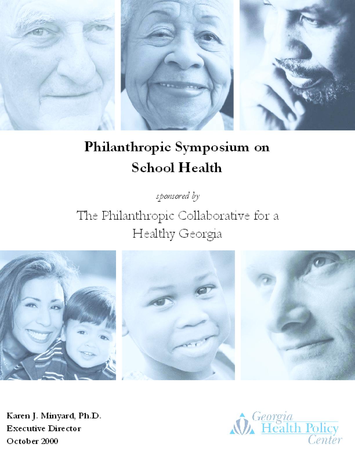 Philanthropic Symposium on School Health