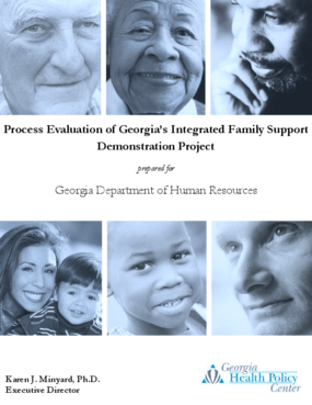 Process Evaluation of Georgia's Integrated Family Support Demonstration Project: Findings from First Year Implementation Efforts