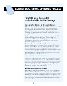 Towards Access to Coverage: Stakeholder Views