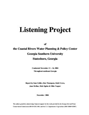 Listening Project