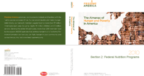 The Almanac of Hunger and Poverty in America 2010: Federal Nutrition Programs