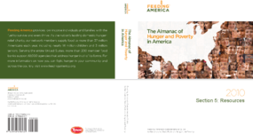 The Almanac of Hunger and Poverty in America 2010: Resources
