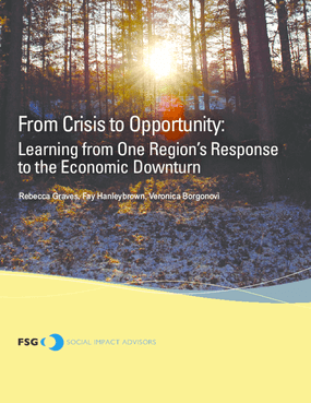 From Crisis to Opportunity: Learning from One Region's Response to the Economic Downturn