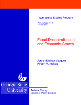 Fiscal Decentralization and Economic Growth