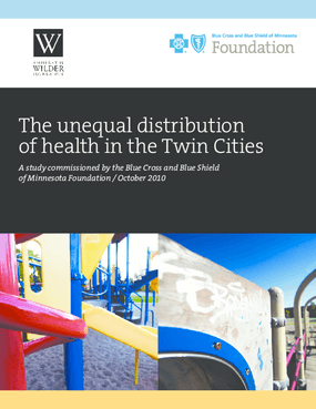 The Unequal Distribution of Health in the Twin Cities
