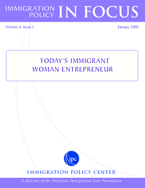 Today's Immigrant Woman Entrepreneur