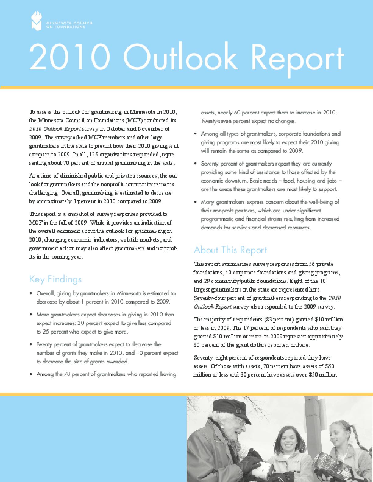 2010 Outlook Report