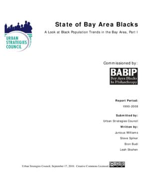 State of Bay Area Blacks