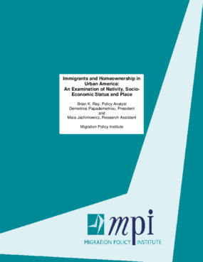 Immigrants and Homeownership in Urban America: An Examination of Nativity, Socio-economic Status and Place