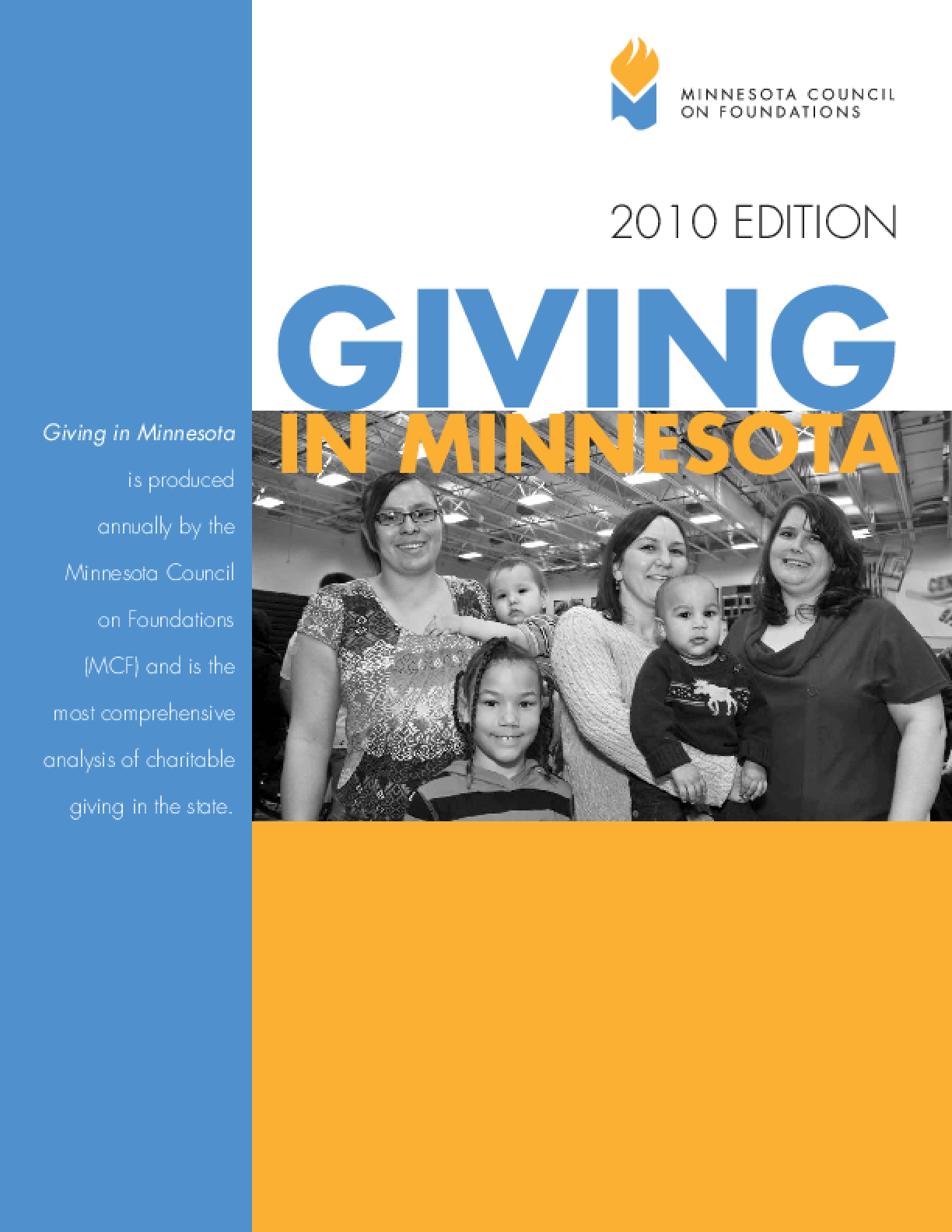 Giving in Minnesota 2010 Edition Summary