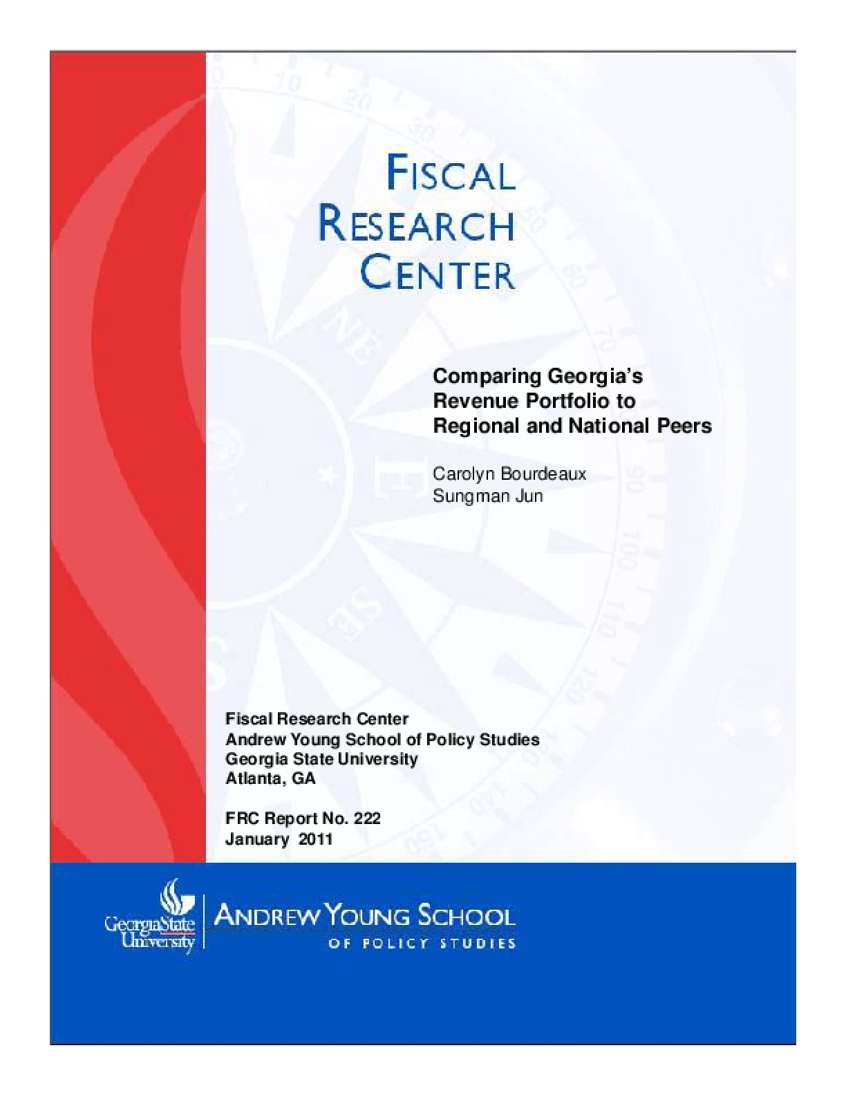 Comparing Georgia's Revenue Portfolio to Regional and National Peers