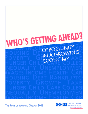 Who's Getting Ahead? Opportunity in a Growing Economy