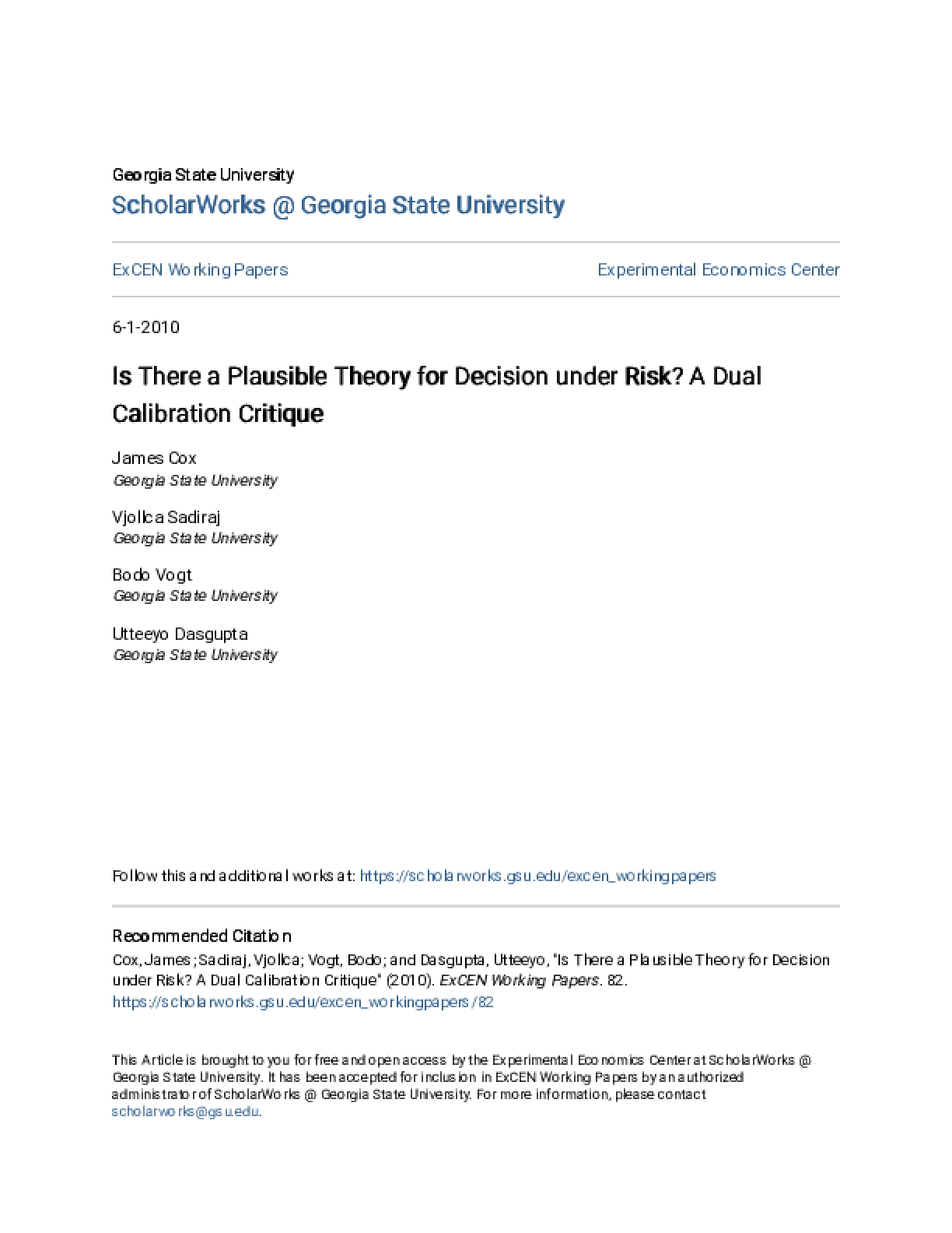 Is There a Plausible Theory for Decision Under Risk? A Dual Calibration Critique