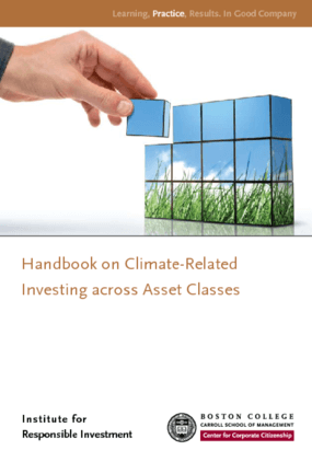 Climate-Related Investing Across Asset Classes