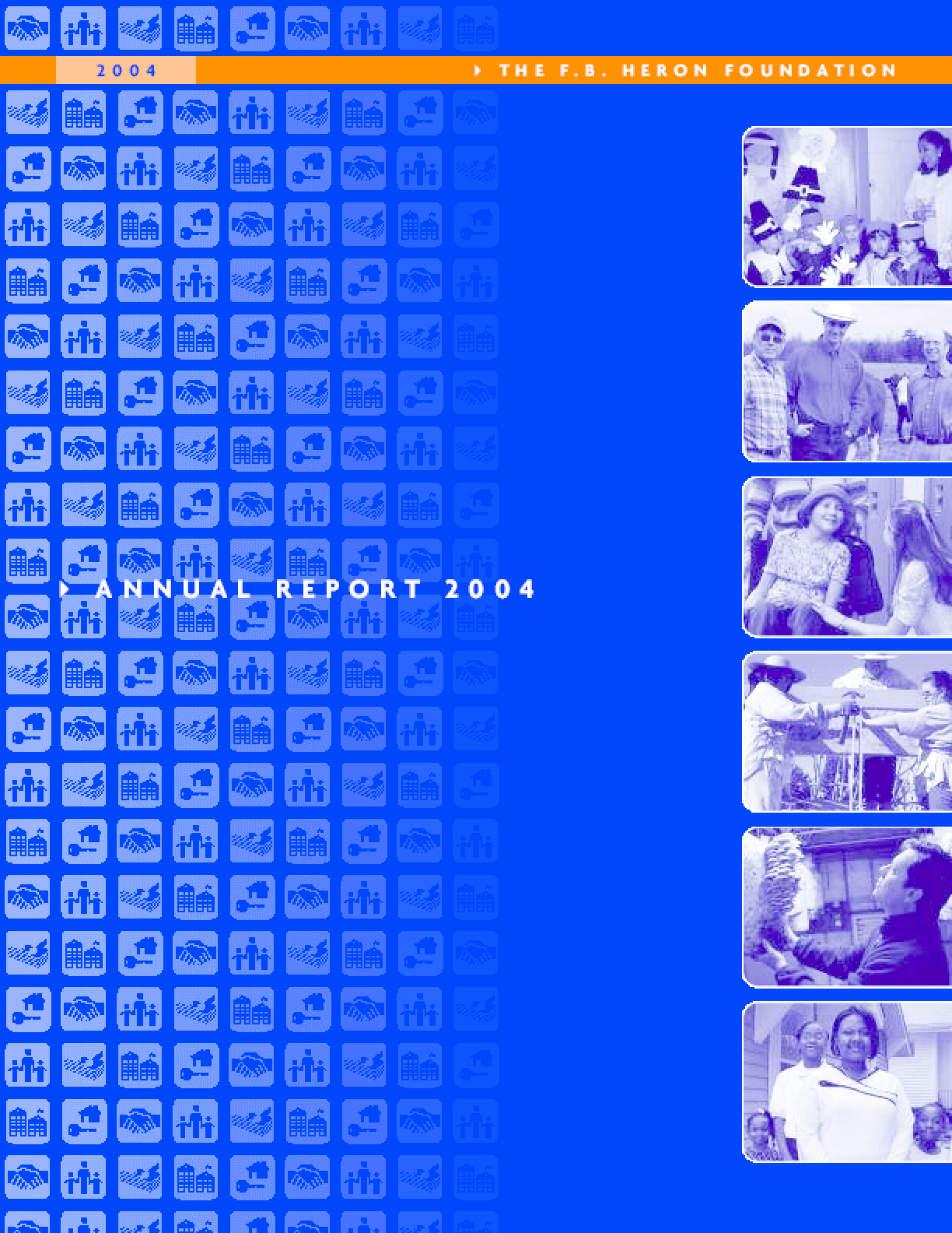F.B. Heron Foundation Annual Report 2004