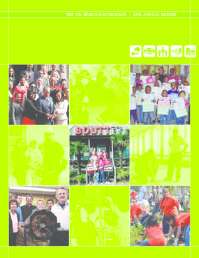 F.B. Heron Foundation Annual Report 2005