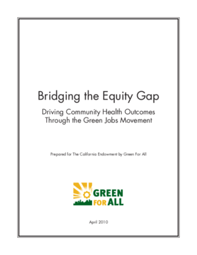 Bridging the Equity Gap: Driving Community Health Outcomes Through the Green Jobs Movement