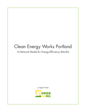 Clean Energy Works Portland Report