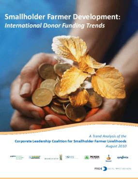 Smallholder Farmer Development: International Donor Funding Trends