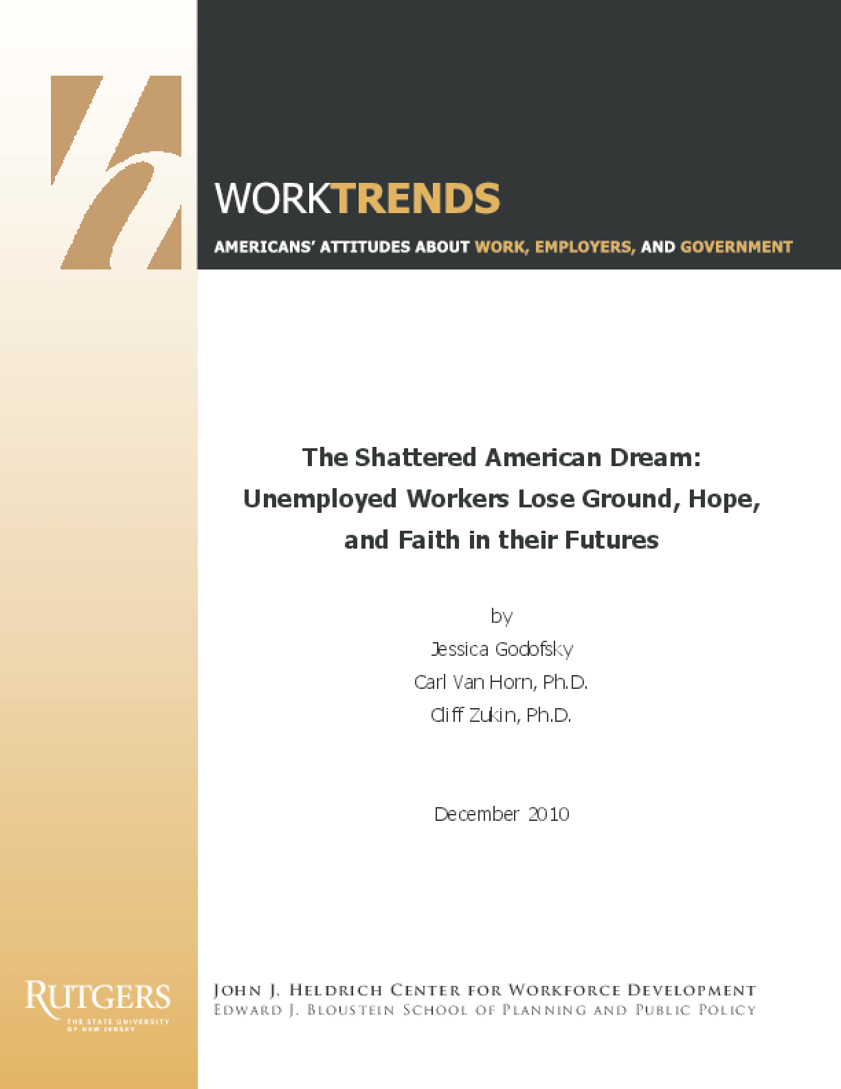 The Shattered American Dream