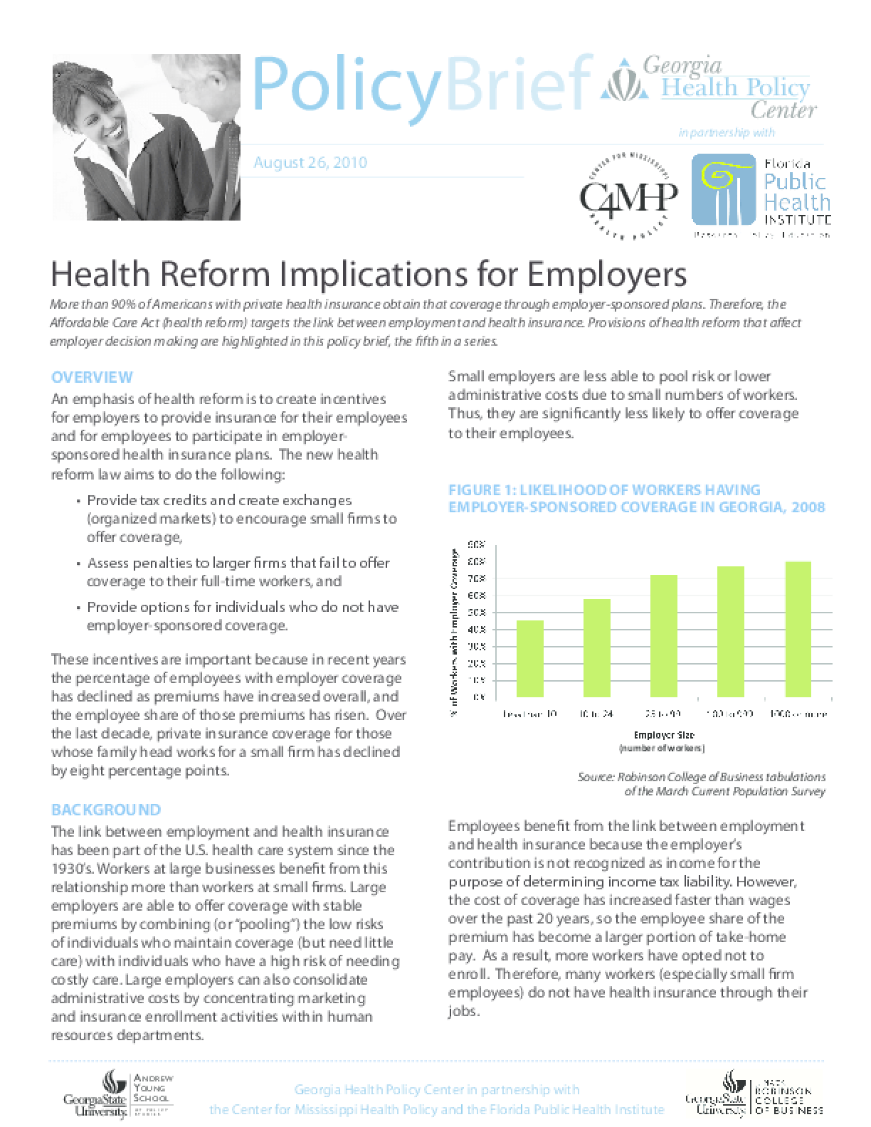 Health Reform Implications for Employers
