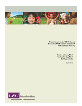 A Commentary on the WSIPP Report: Evaluating Whether a Risk Assessment Reduced Racial Disparity