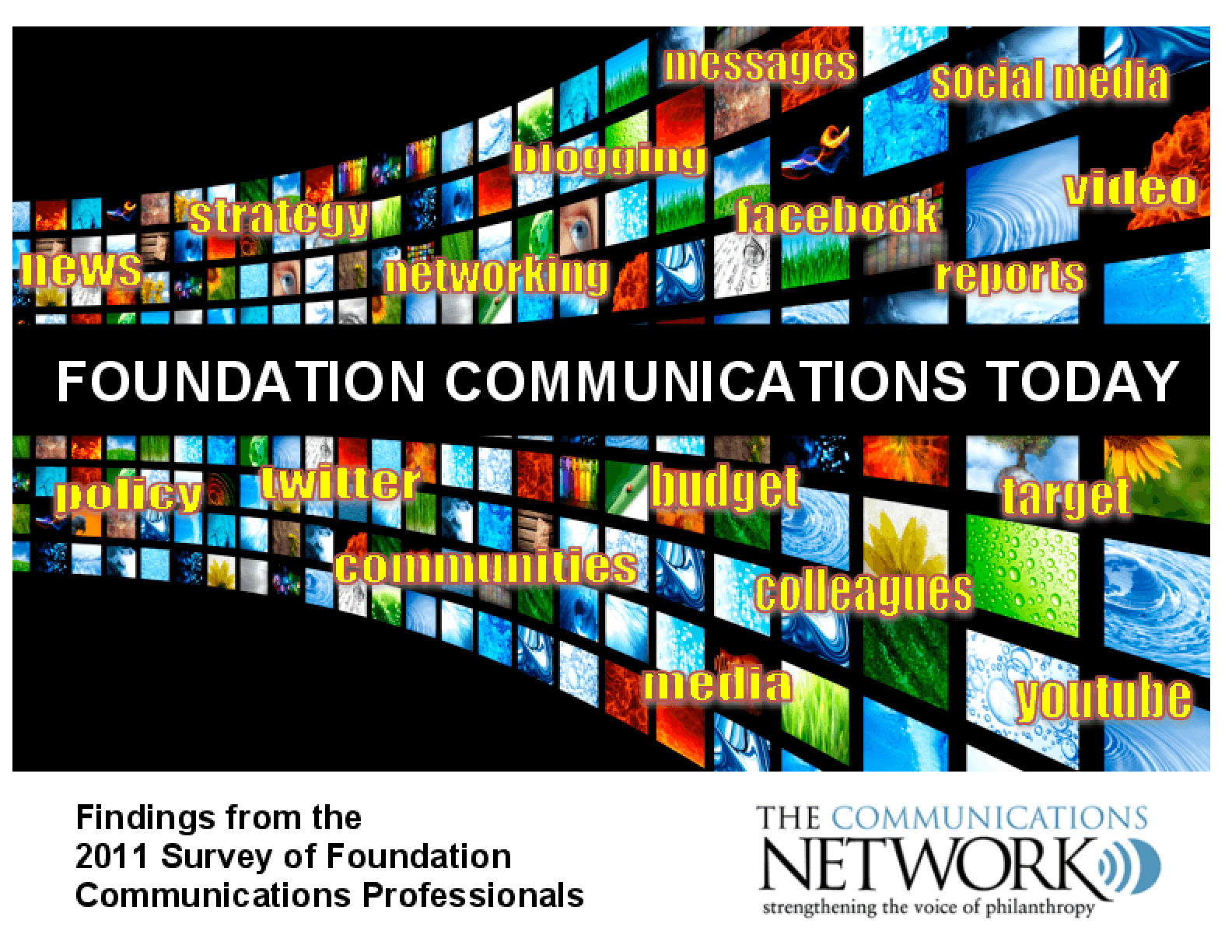 Foundation Communications Today: Findings from the 2011 Survey of Foundation Communications Professionals