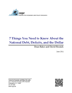 7 Things You Need to Know About the National Debt, Deficits, and the Dollar