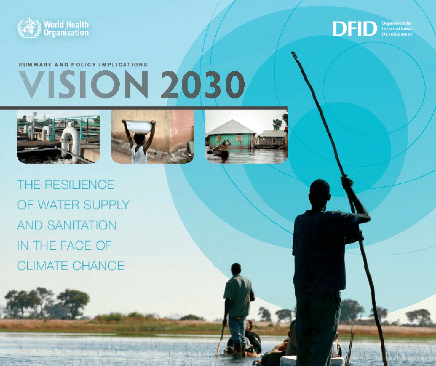 Summary and Policy Implications Vision 2030: The Resilience of Water Supply and Sanitation in the Face of Climate Change