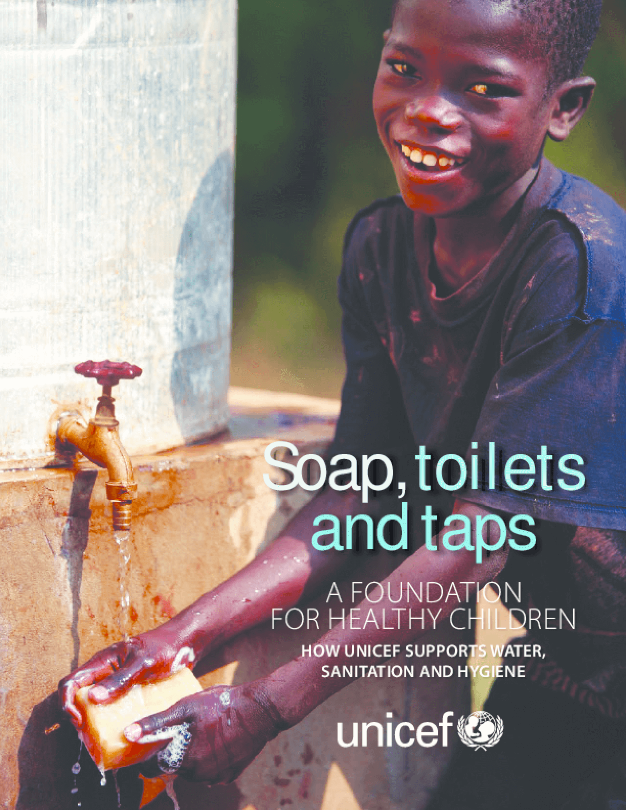 Soaps, Toilets and Taps, A Foundation for Healthy Children: How UNICEF Supports Water, Sanitation and Hygiene