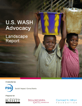 U.S. WASH Advocacy Landscape Report
