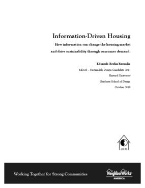 Information-Driven Housing