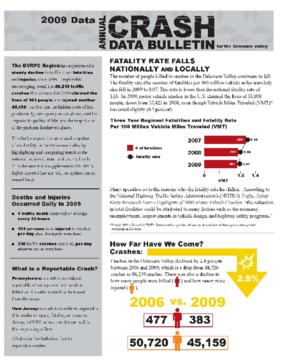 2009 Annual Crash Data Bulletin