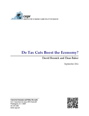 Do Tax Cuts Boost the Economy?