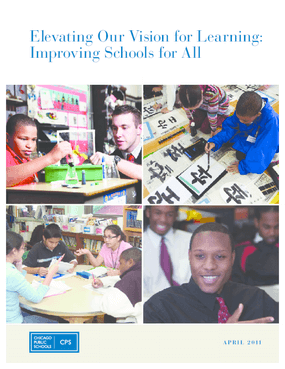 Elevating Our Vision for Learning: Improving Schools for All