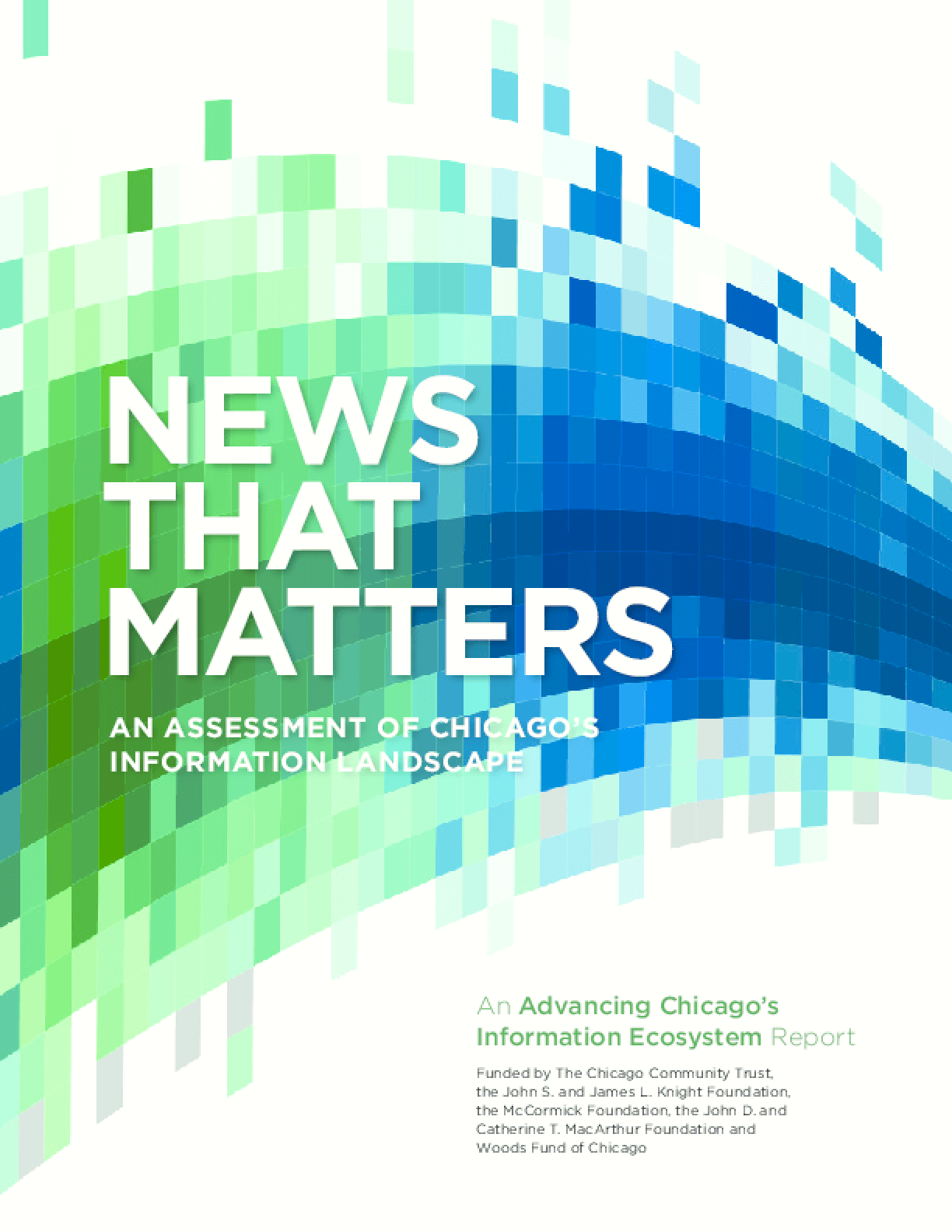 News That Matters: An Assessment of Chicago's Information Landscape
