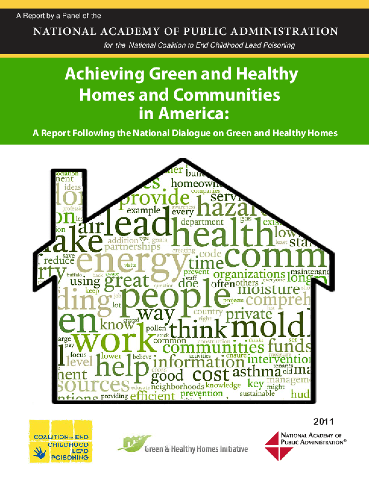 Achieving Green and Healthy Homes and Communities in America