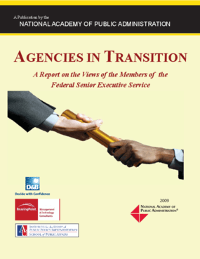 Agencies in Transition: A Report on the Views of the Members of the Federal Senior Executive Service