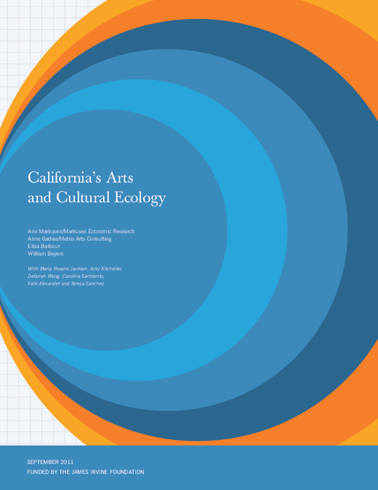 California's Arts and Cultural Ecology