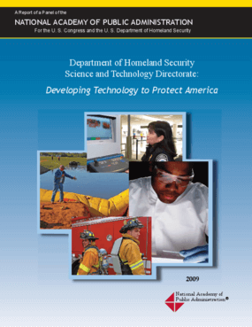 Department of Homeland Security Science and Technology Directorate: Developing Technology to Protect America