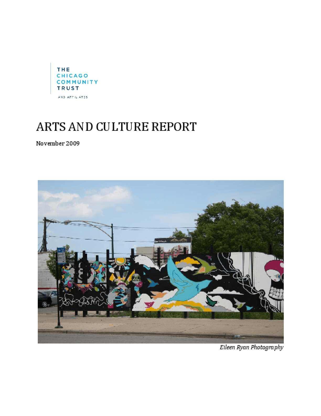 Arts and Culture Report