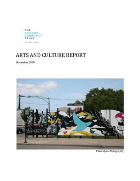 Arts and Culture Report