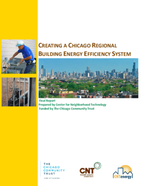 Creating a Chicago Regional Building Energy Efficiency System