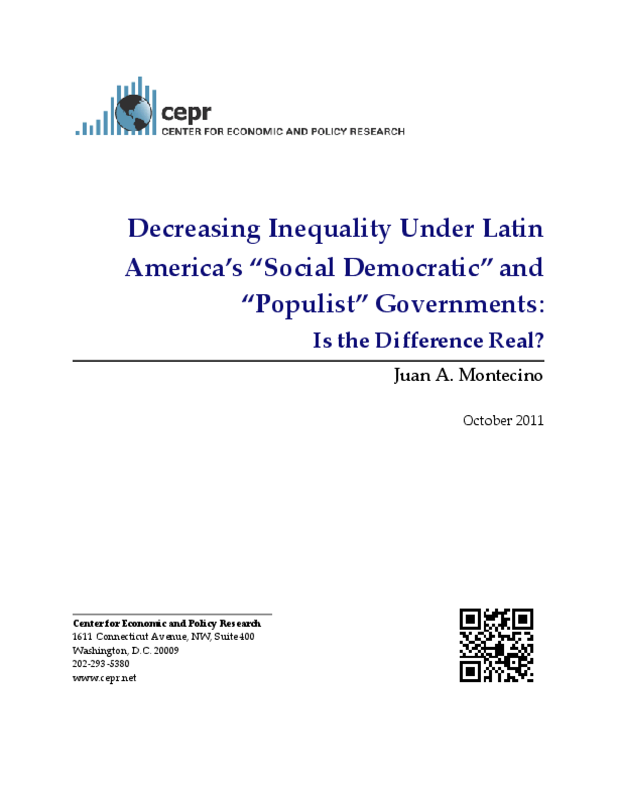 Decreasing Inequality Under Latin America's a