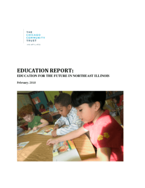 Education Report: Education for the Future in Northeast Illinois