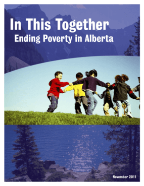 In This Together: Ending Poverty in Alberta