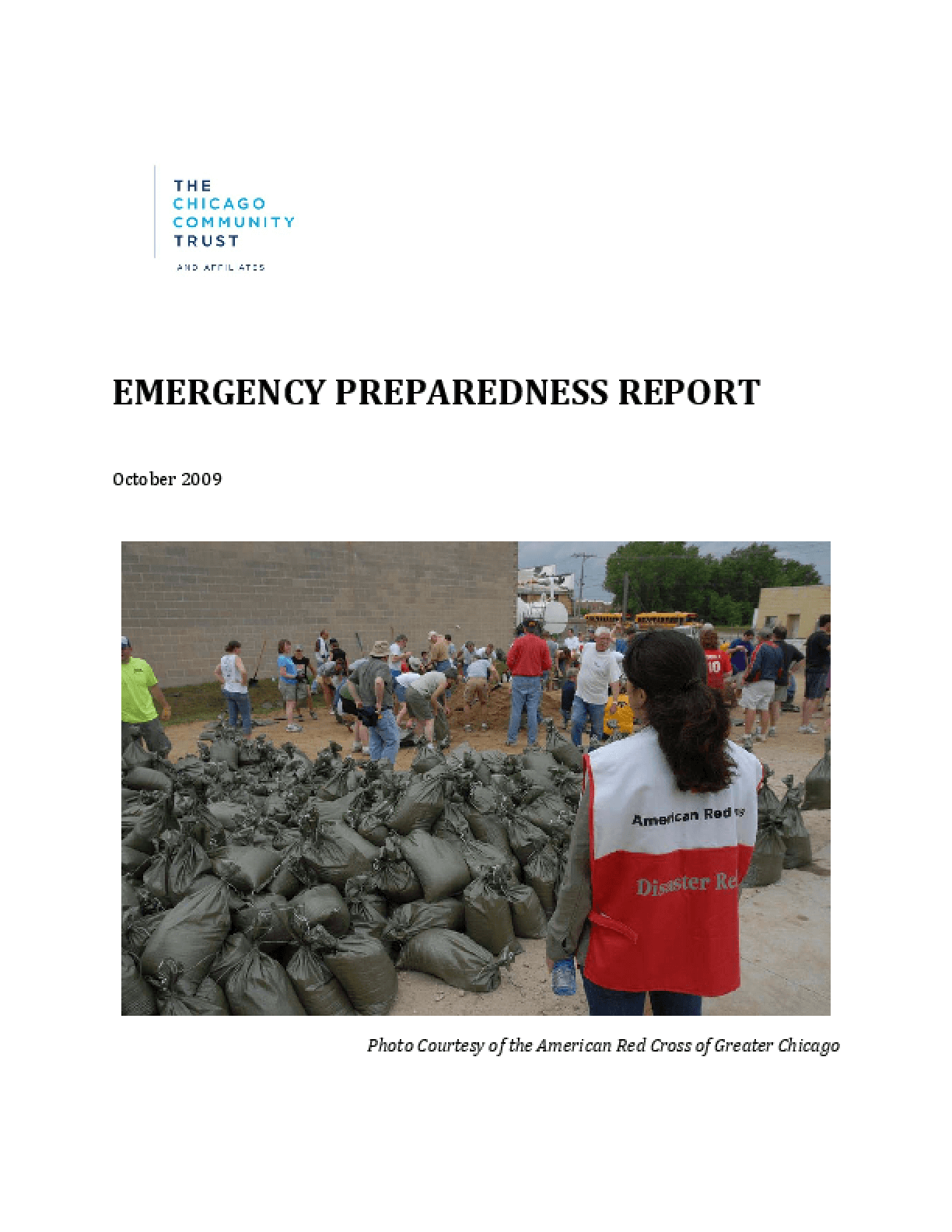 Emergency Preparedness Report