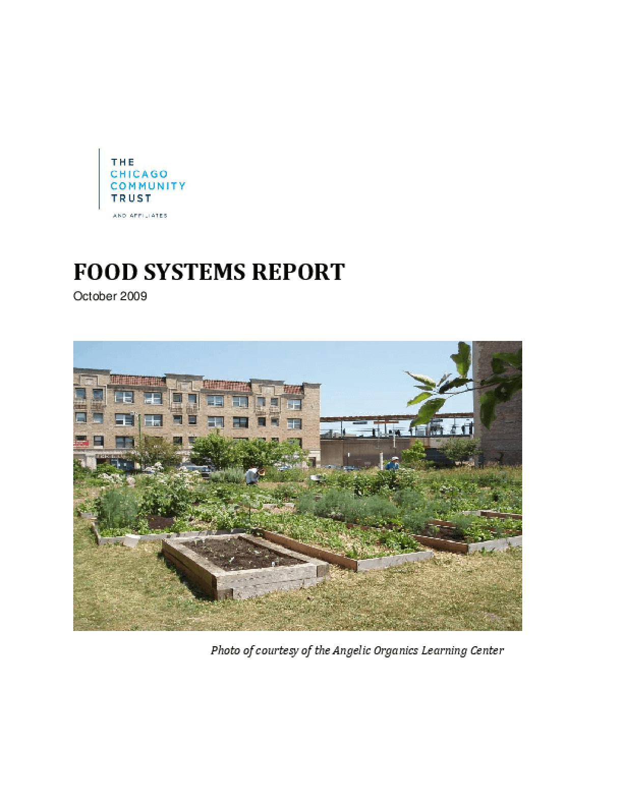 Food Systems Report
