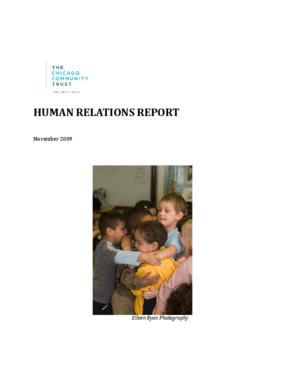 Human Relations Report