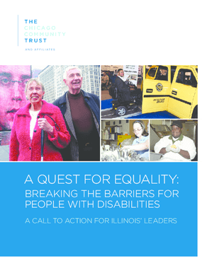 A Quest for Equality: Breaking the Barriers for People with Disabilities
